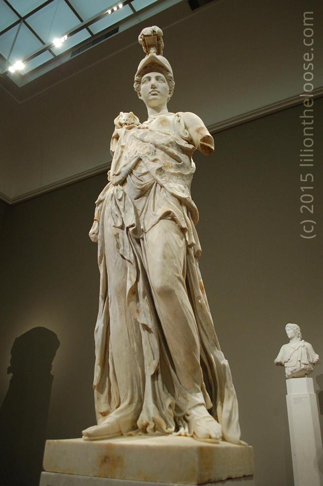 Museum: Athena at Städtische Galerie Liebieghaus - Lili On