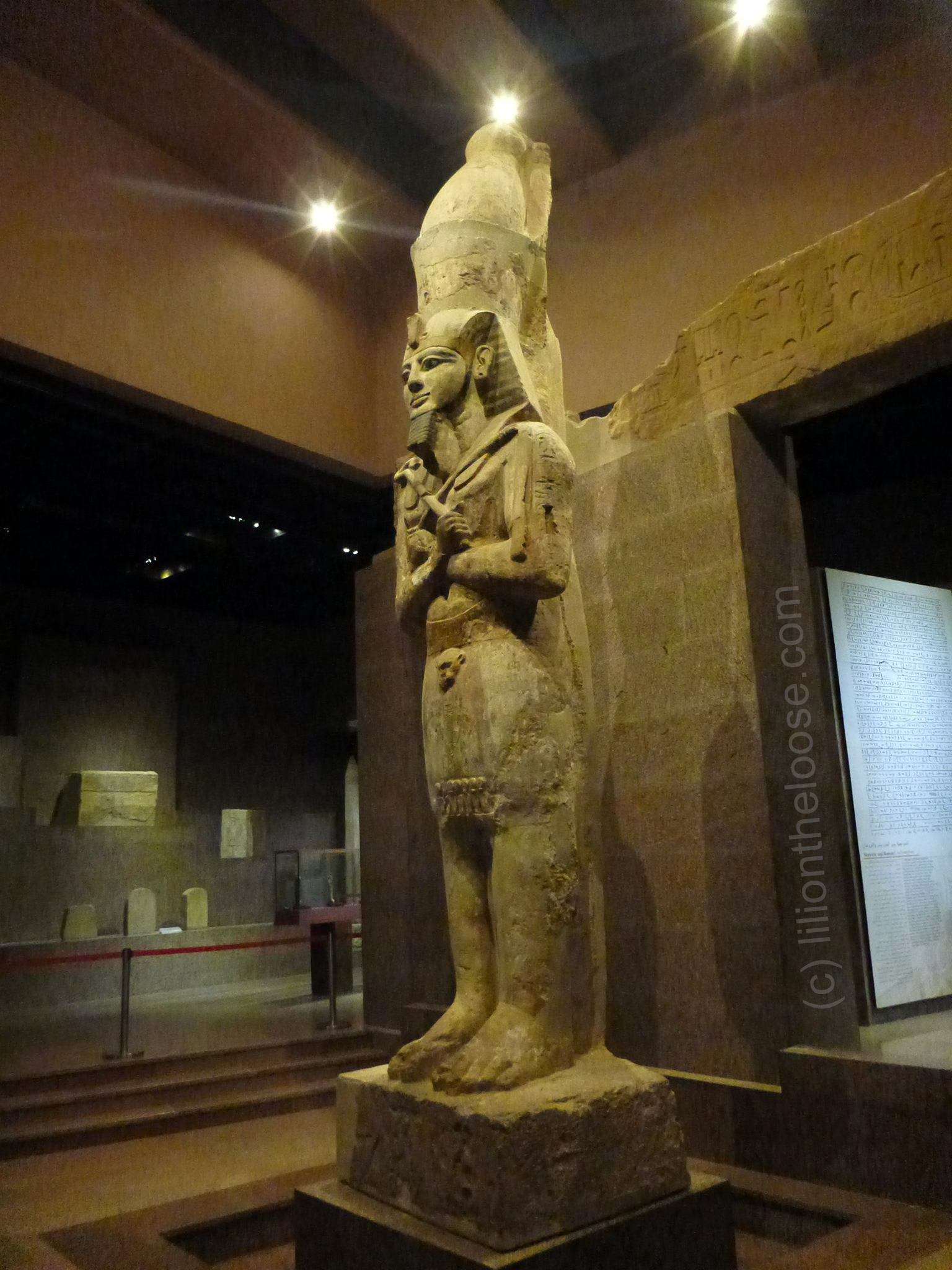 Change Comes To Egypt >> Museum Monday: Ramses II of the Temple of Gerf Hussein - Lili on the Loose