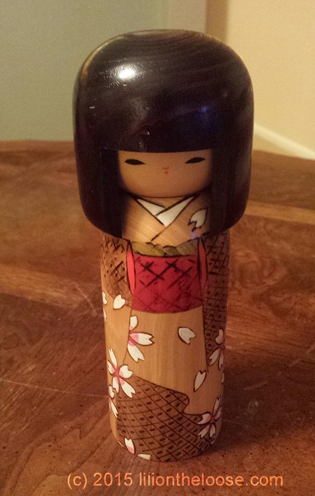 Souvenir Kokeshi Japanese Wooden Dolls Lili On The Loose