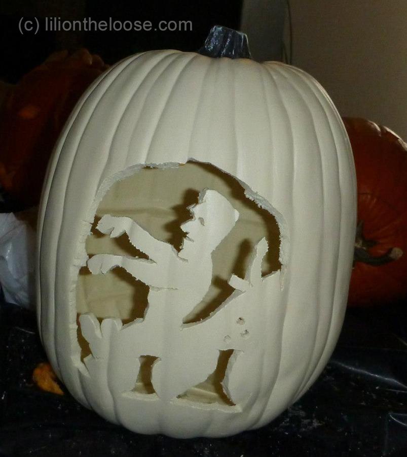 My favorite carved pumpkins lili on the loose