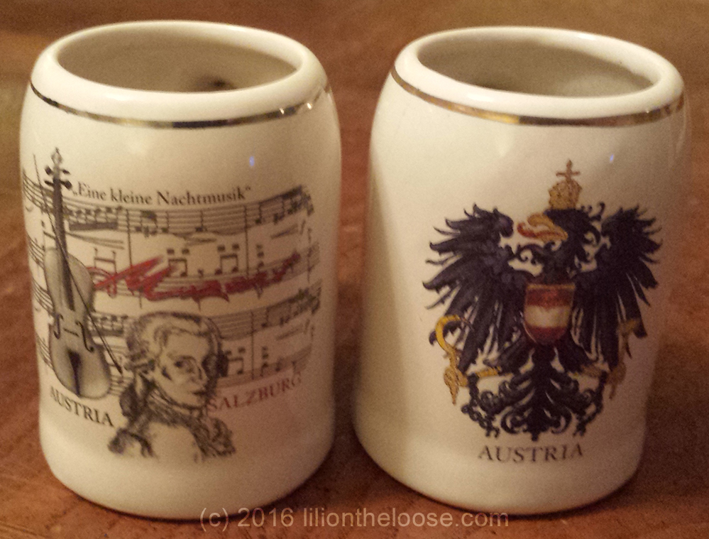 Costa Ceramic Christmas Travel Mugs